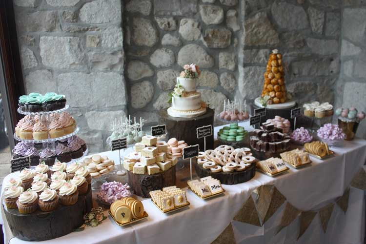 Wedding Dessert Table | The Cake Box