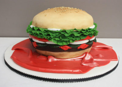 hamburger-cake
