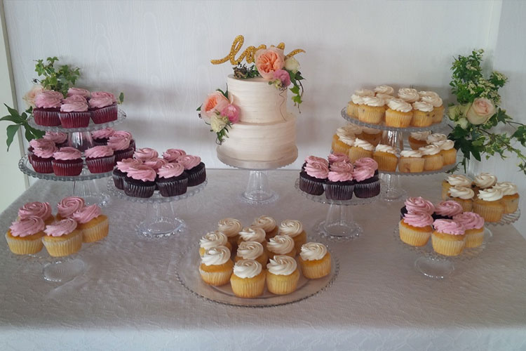 Wedding Cake Cupcakes Pinterest