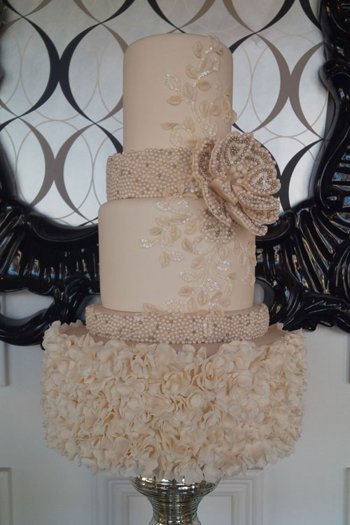 Fancy Wedding Cake Kitchener